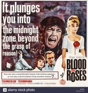 blood-and-roses-us-poster-art-from-left-elsa-martinelli-mel-ferrer-E5M968