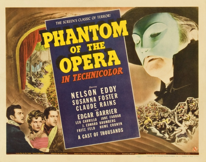 Poster - Phantom of the Opera (1943)_02