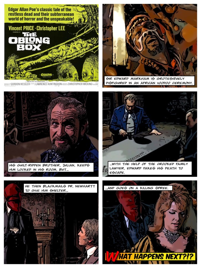 Movie Comics-Oblong Box