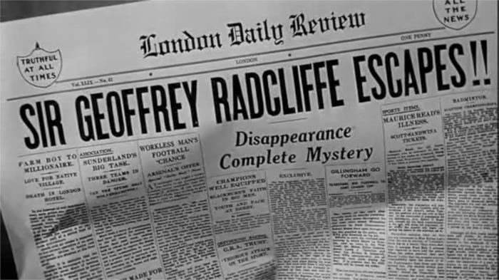 Headline-Invisble Man Returns