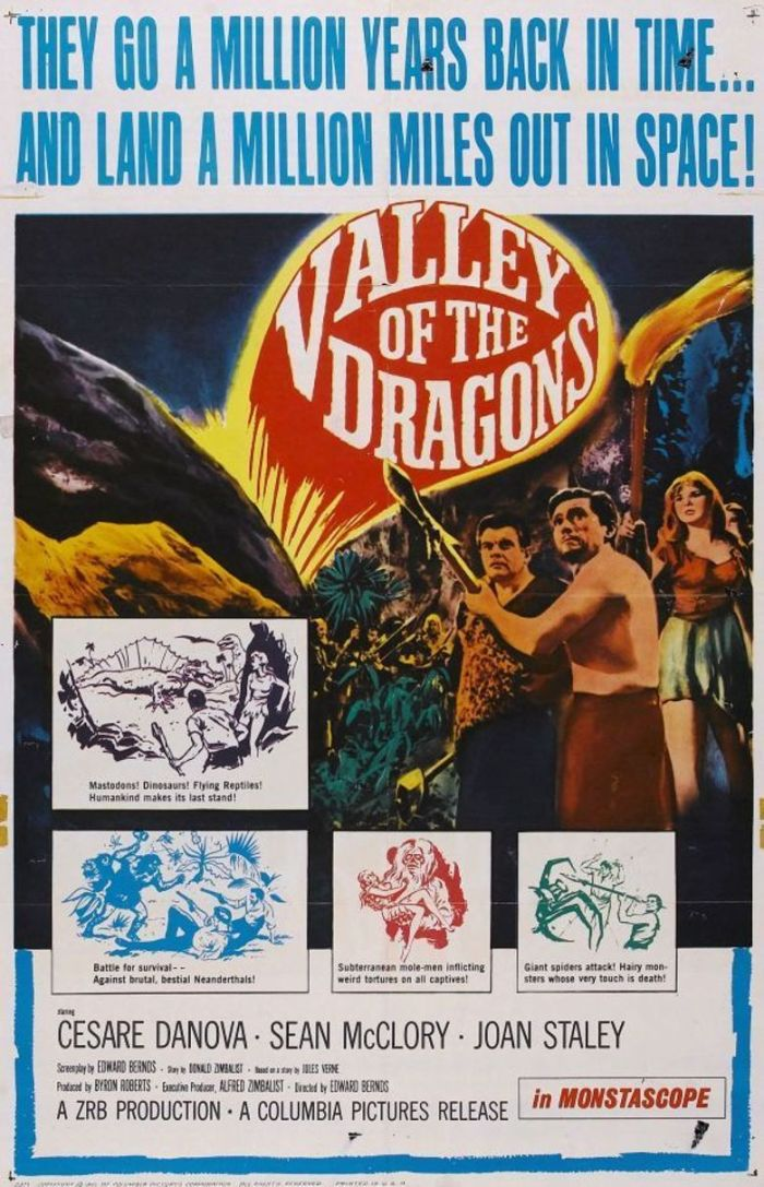 Valley of Dragons-1961-Poster