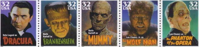 Monsters Postage